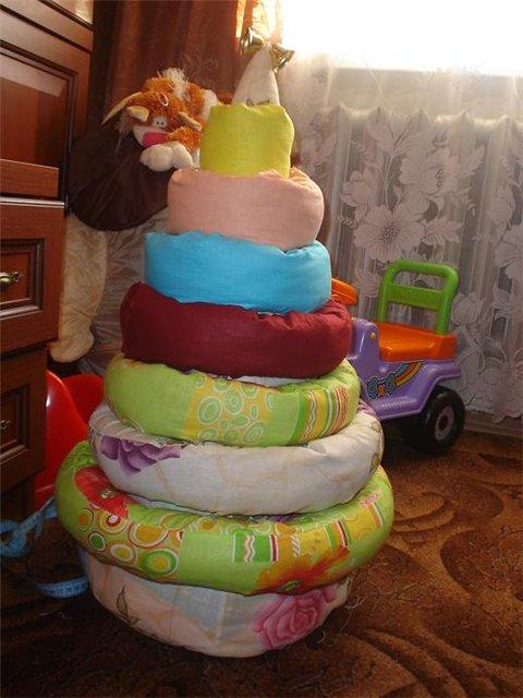 Пирамидка своими руками для малышей выкройки 85