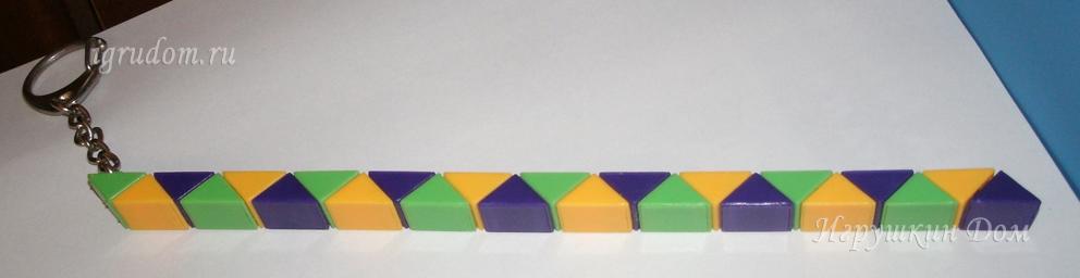 Как сделать из змейки рубика пошаговая инструкция 358