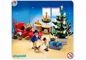 Рlaymobil рождественская комната