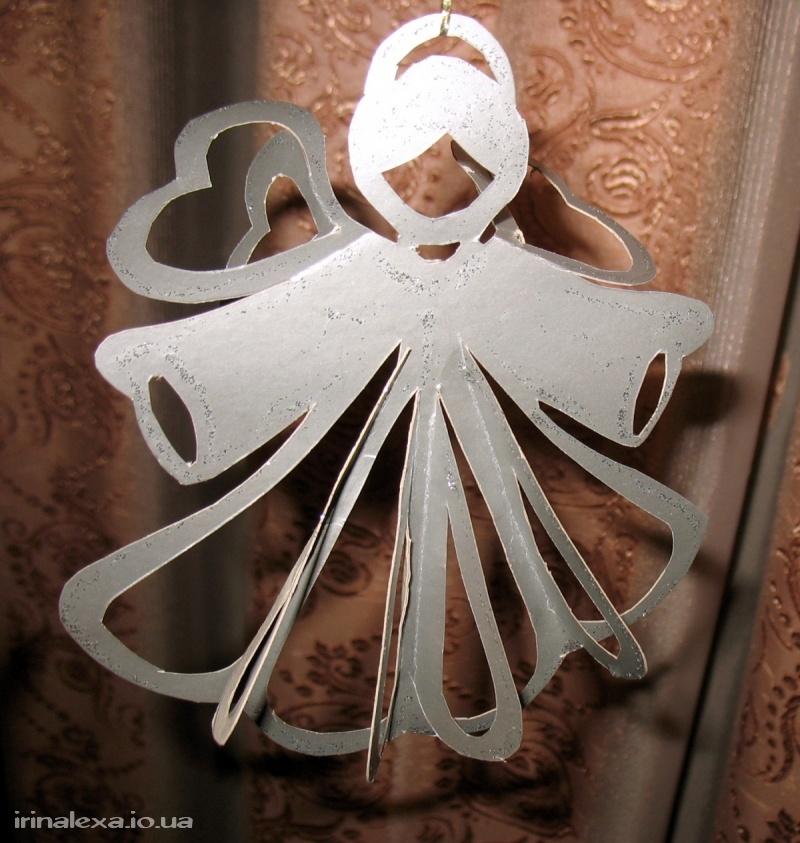 Поделки ангелочков к новому году своими руками