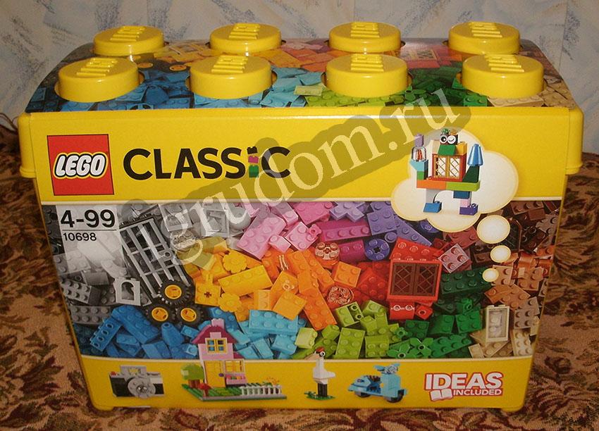 инструкция Lego 10698 - фото 9