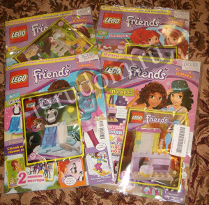 Журнал Lego Friends