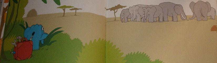 Мимбо-Джимбо и большие слоны.
