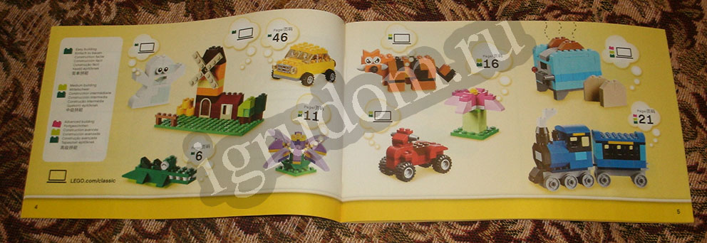lego classic 10702 building instructions