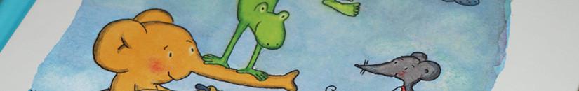И еще книги про слоников.