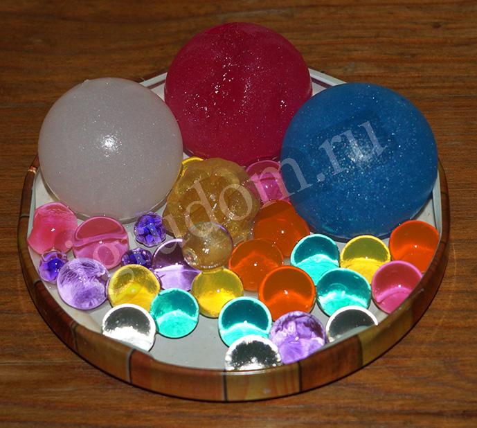 Как сделать шарики орбиз в домашних условиях