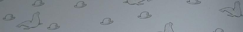 Мистер Клегхорн и его тюлененок.